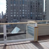 glass balcony rail