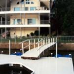 Dock with Vinyl Decking