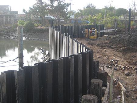 seawall construction sausalito