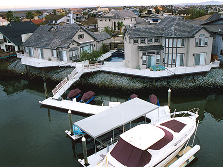 boat dock and deck