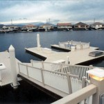 boat dock and gangway