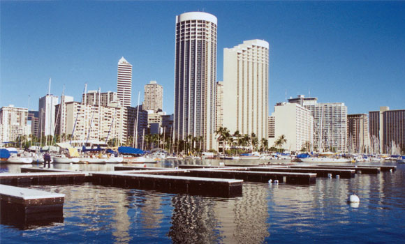 Marina Construction, Waikiki Yacht Club, Honolulu, Hawaii