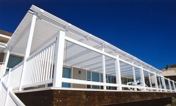 Glass Rail, Patio Cover