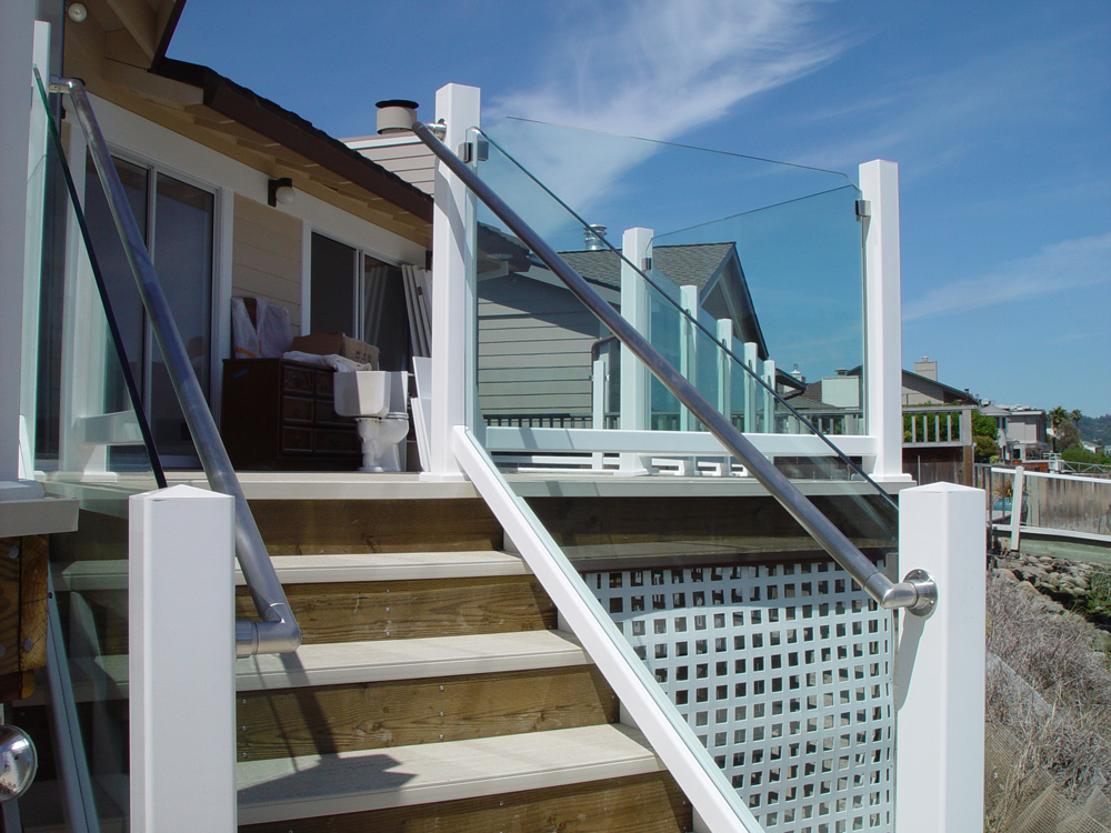 Glass Rail and stairs