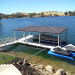 Dock with Cover, Lake Tulloch