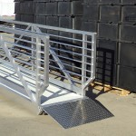 Gangway with Transition Plate