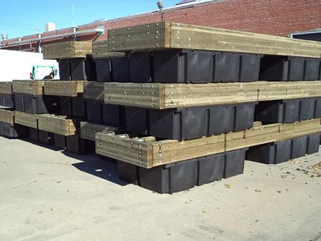 Sausalito's Waldo Point Dock Construction