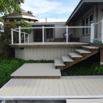 Vinyl Deck with Cable Railing