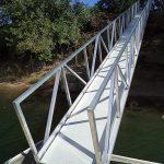 Aluminum Gangway, Sacramento River