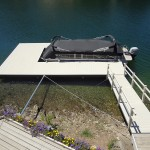 Vinyl Decked Dock in Lake Tulloch