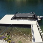Dock and Gangway in Lake Tulloch