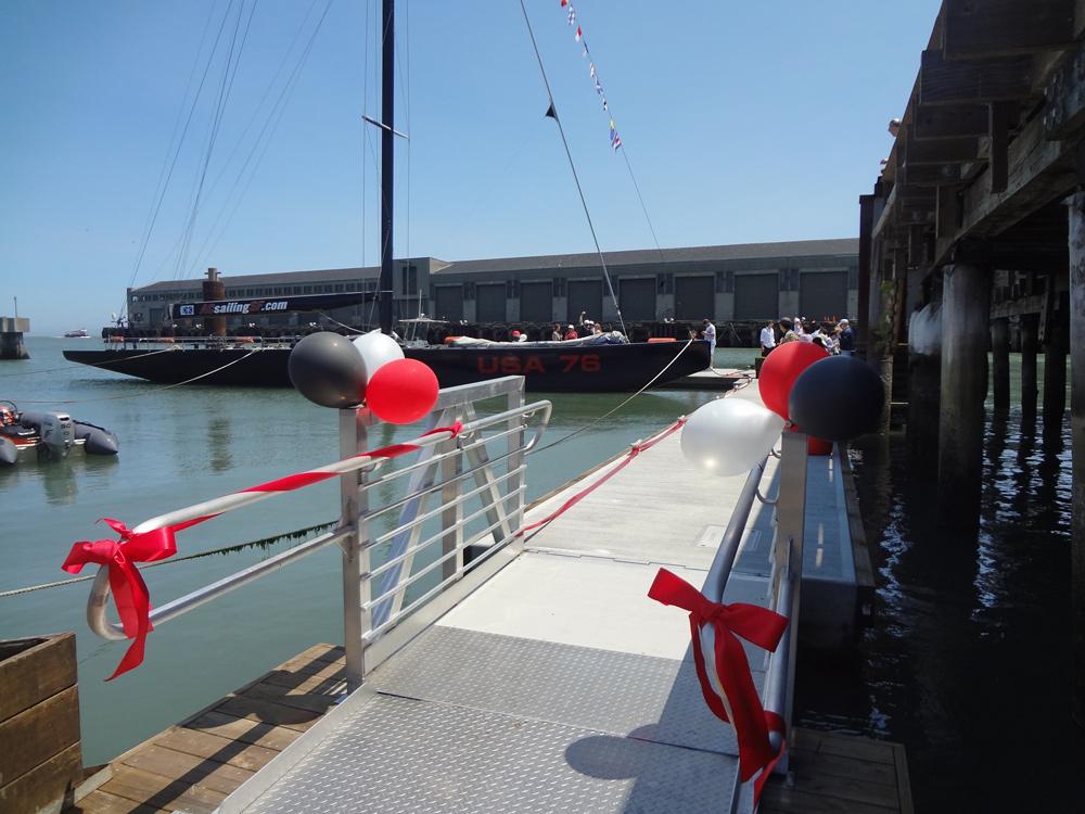 Pier 39, America's Cup Dock