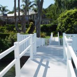 Pier with Vinyl Railing and Decking