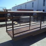 Gangway with Cable Rail