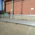 Aluminum Gangway with Vertical Side Pickets