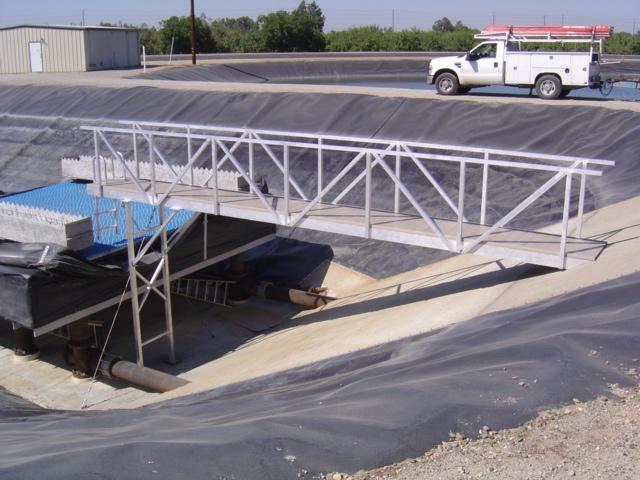 Water Treatment Plant Aluminum Bridge