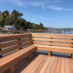 Ipe Pier with Built-in Bench