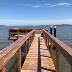 Ipe Pier with Cable Railing, Tiburon