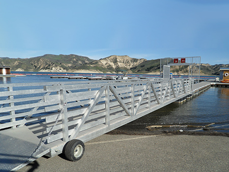 commercial aluminum gangway
