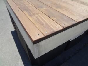 Aluminum Dock with Ipe Decking