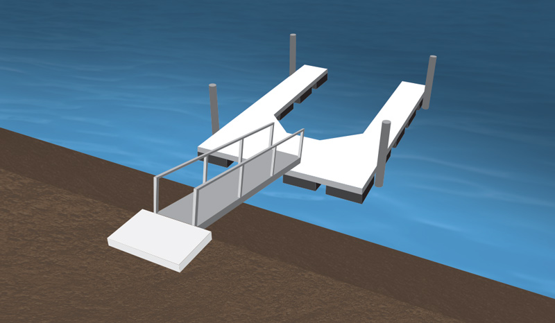 Floating Boat Docks In Northern California