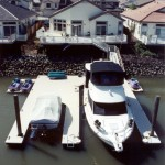 Double-U Shaped Dock