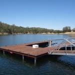 Dock with Ipe Decking