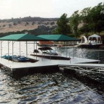 Lake Tulloch Covered Dock