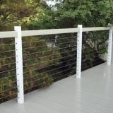 vinyl cable rails