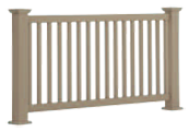 sheffieldt vinyl rail