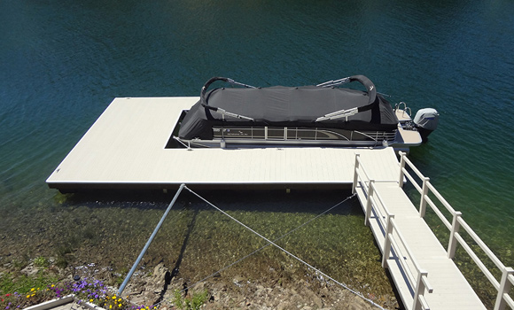 Lake Tulloch Floating Dock