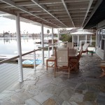 Stone Deck with Vinyl Cover