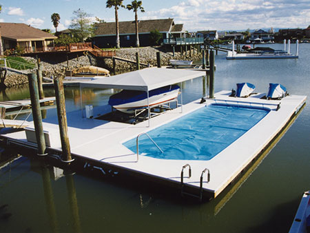 Floating Boat Docks in Northern California | Mid-Cal Construction